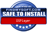 DSPlayer - Safe To Install Award